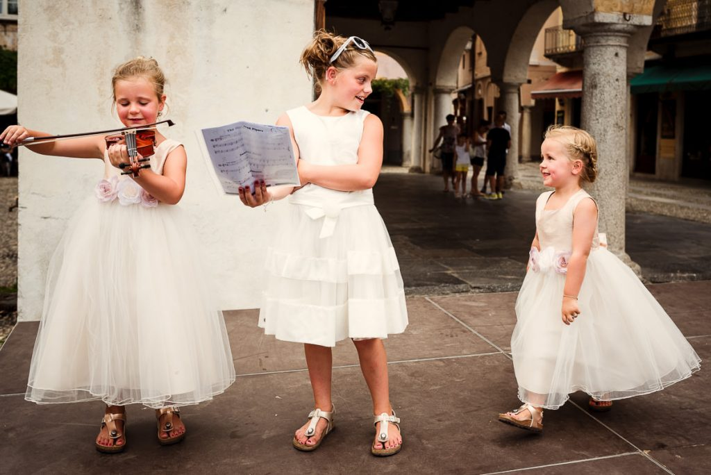 Kinderen op je bruiloft | Bruidsmeisje | Italië