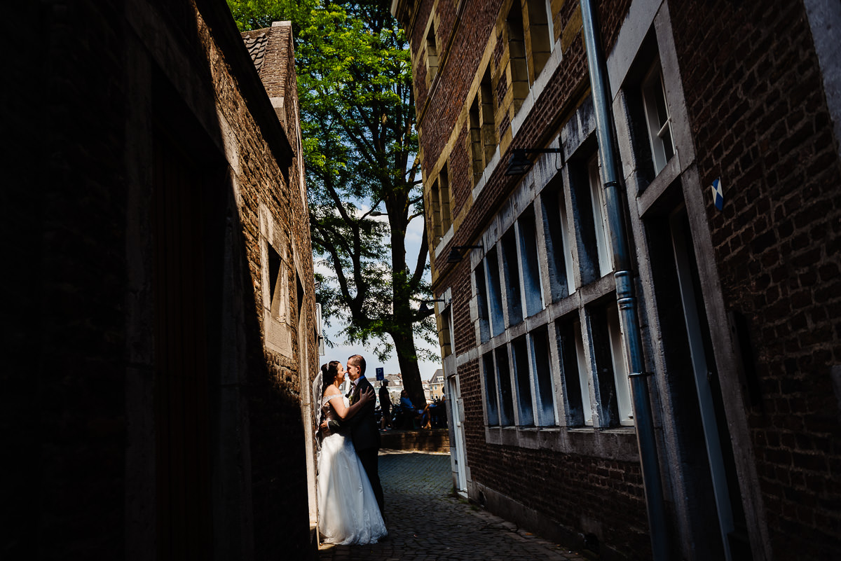 Trouwen centrum Maastricht | Bruidsfotograaf Stan Bessems