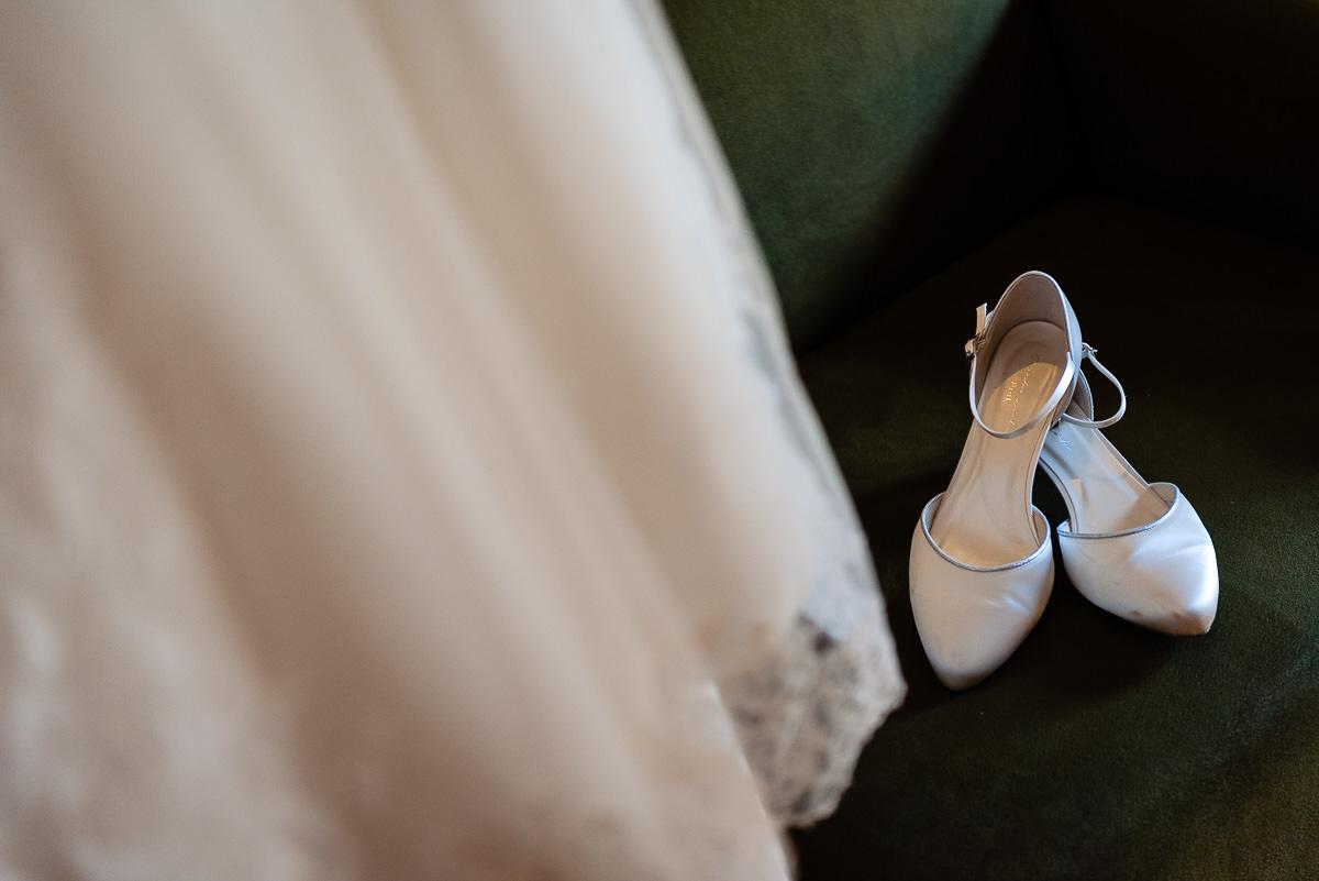 Details trouwjurk | Stan Bessems Fotografie