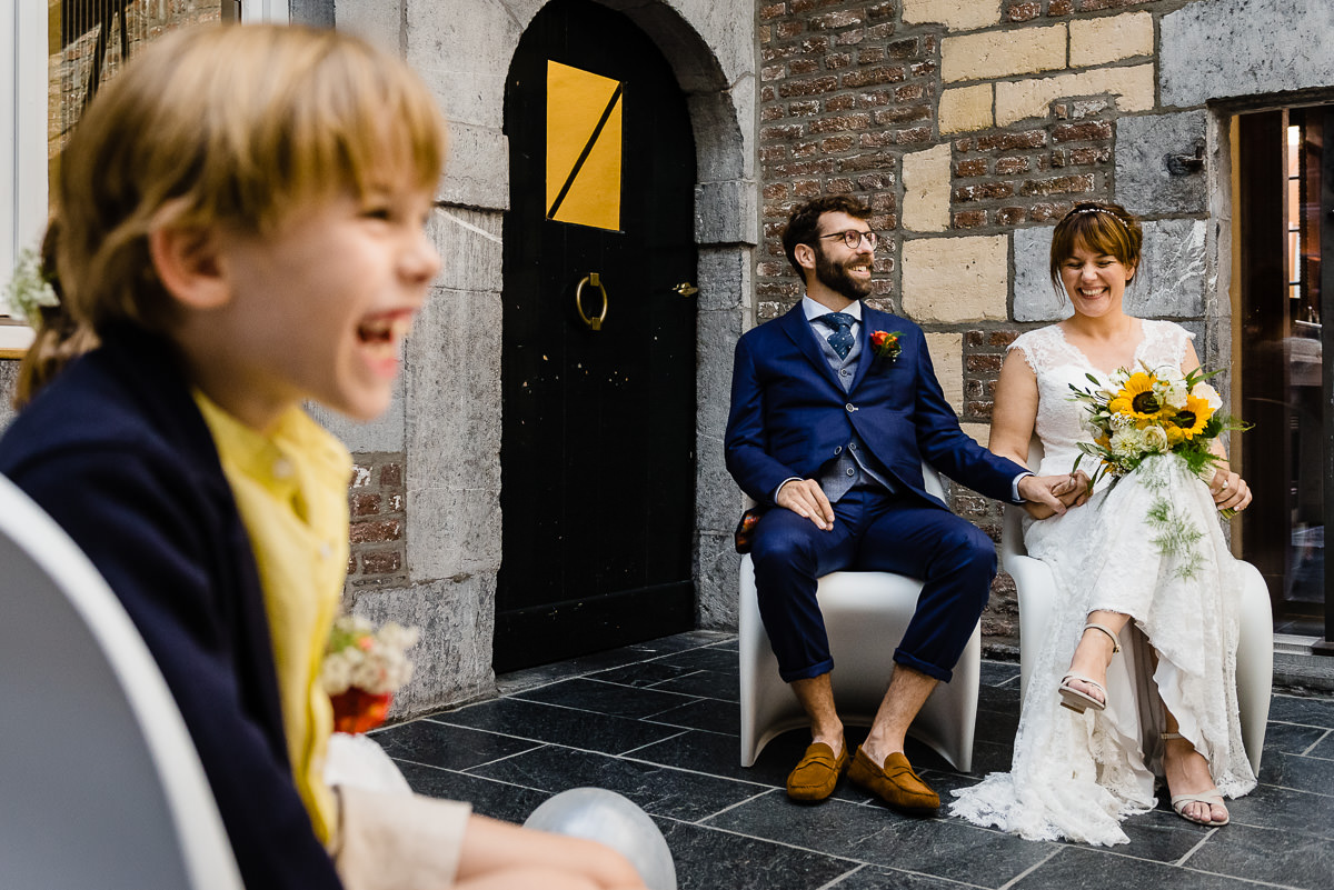 Huwelijksceremonie bij Thiessen in Maastricht