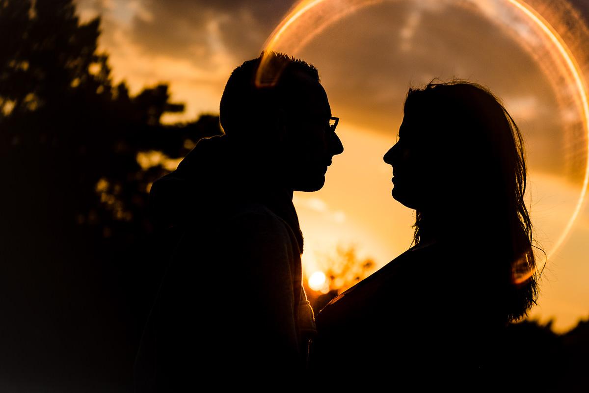 Huwelijksaanzoek bij zonsondergang