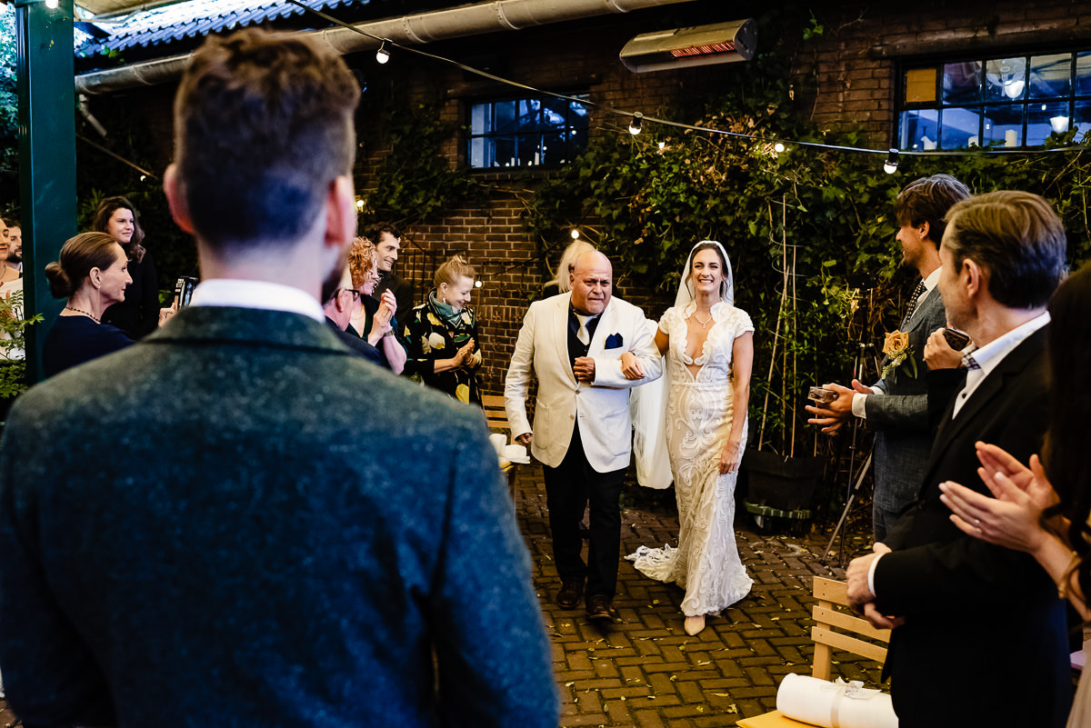 Buiten trouwen bij het rijk van de keizer | Amsterdam